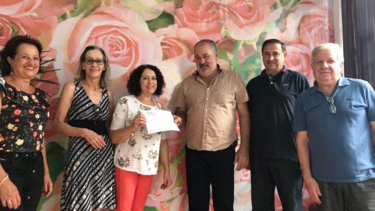 Associação de Criadores Bovinos entrega doações para entidades de Xanxerê